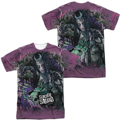 Suicide Squad ENCHANTRESS PSYCHEDELIC CARTOON MENS SUBLIMATED TEE