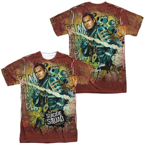 Suicide Squad SLIPKNOT PSYCHEDELIC CARTOON MENS SUBLIMATED TEE