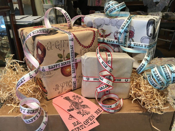 Cards, Wrap, Ribbon, & Tags