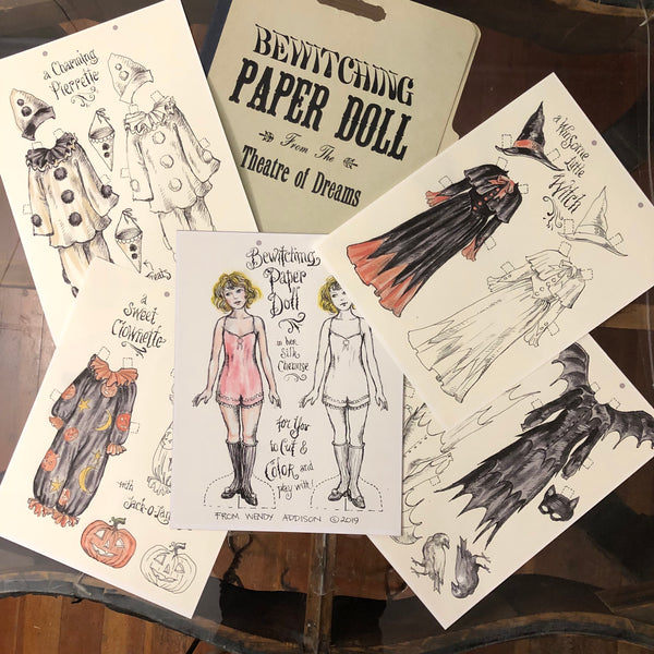 Bewitching Paper Doll