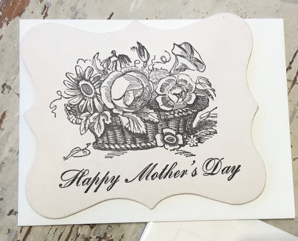 Mother's Day Letterpress Cards