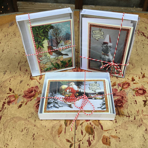Set of Christmas Cards with Envelopes