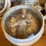 Load image into Gallery viewer, Fairie Reliquary under Antique Glass Dome