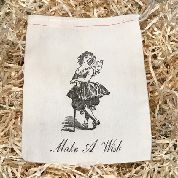 Letterpress Printed Muslin Treat and Gift Bags
