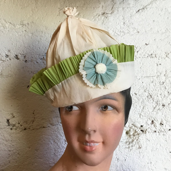 Hand-Sewn Crepe Paper Party Hats