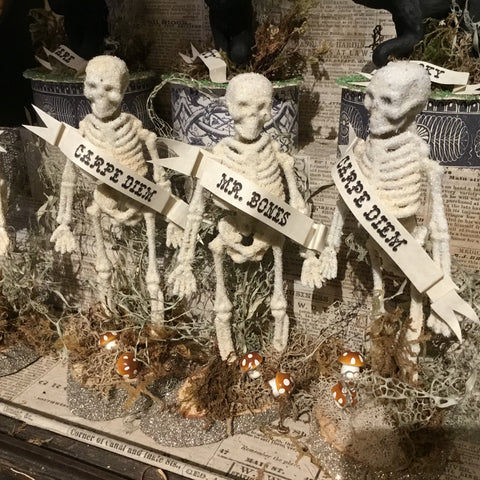Mr. Bones - The Skeletal Harbinger of Halloween