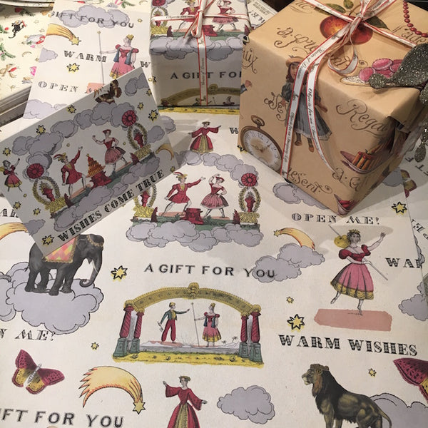 Sheet Paper and Gift Wrap