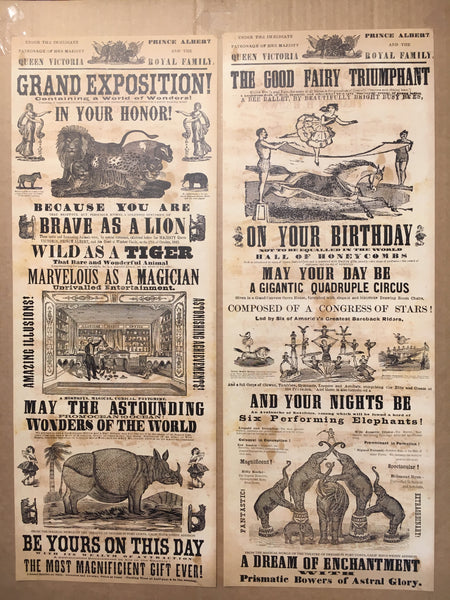 Antique Graphics Poster Cards
