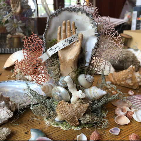 Seashell Memento Class - Materials & Instructional Video