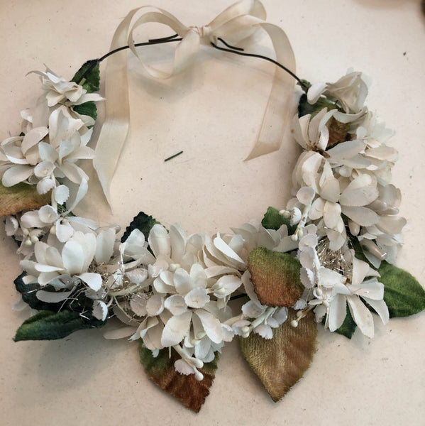 Vintage Flower Crown Materials & Instructional Video