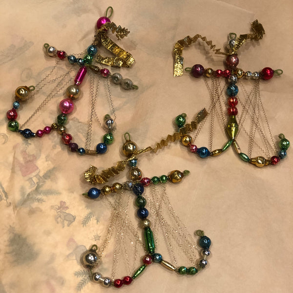 Beaded Anchor Ornaments