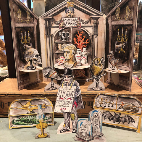 Museum of Marvels - Paper Theatre Kit