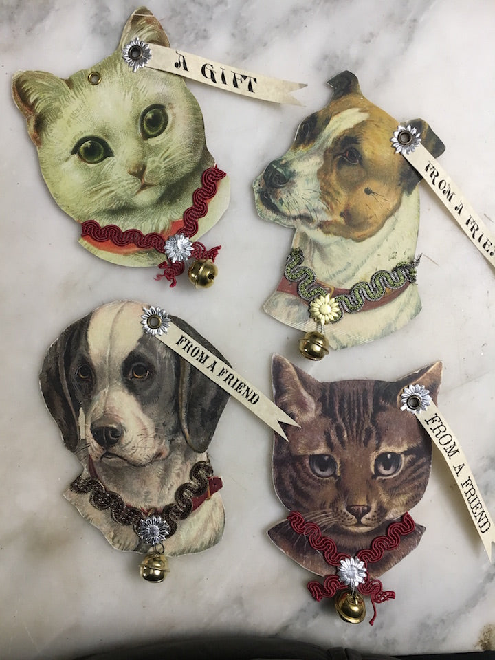 Cat And Dog Ornaments