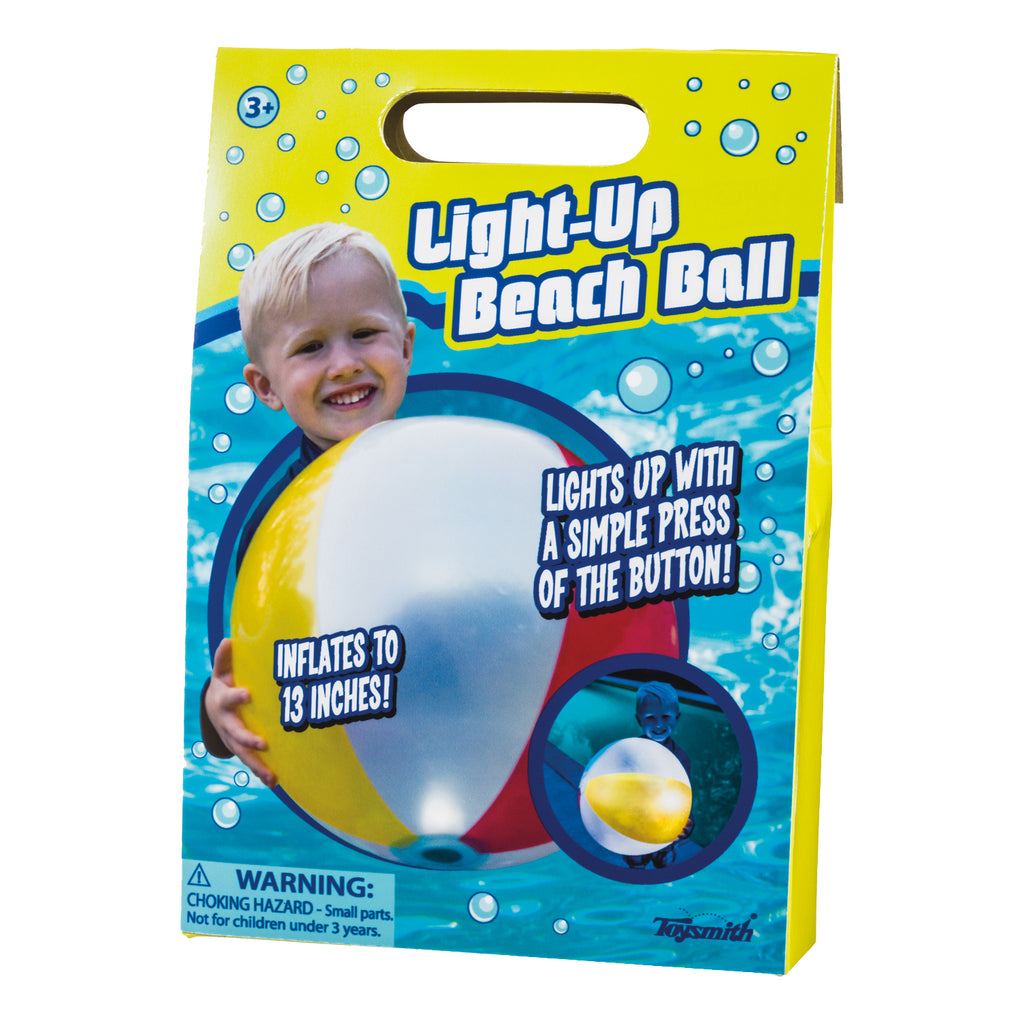Toysmith Light-Up Beach Ball