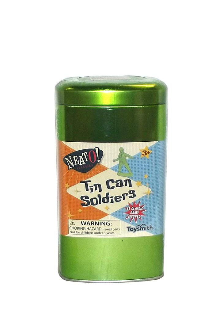 Toysmith Tin Can Soldiers - Toybox Toy Jungle