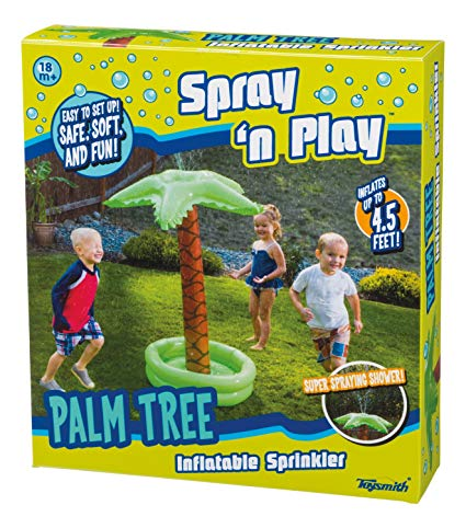Toysmith Spray and Play Palm Tree Sprinkler