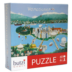 Butzi Games - Vancouver 60pc Puzzle - Toybox Toy Jungle