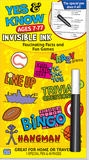 Invisible Ink Book - Yes & Know Series - Toybox Toy Jungle