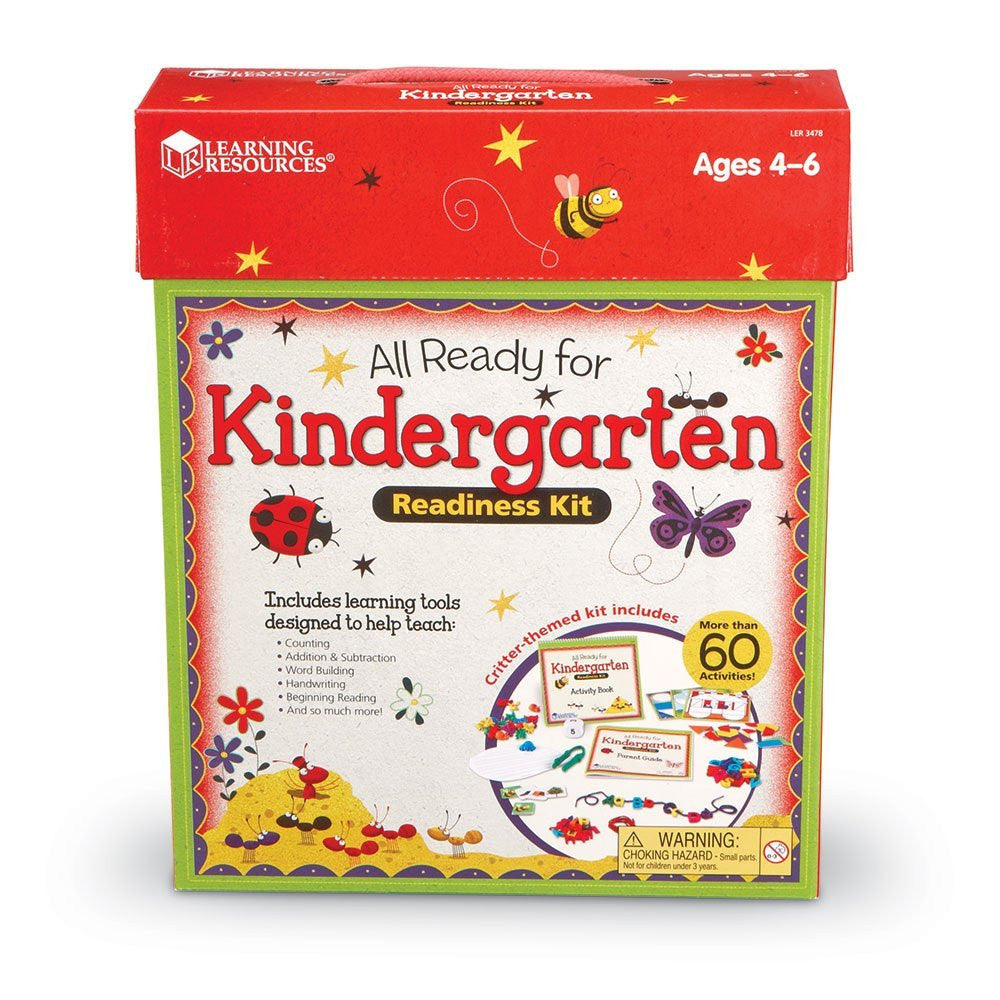 Learning Resources - All Ready for Kindergarten Readiness Kit