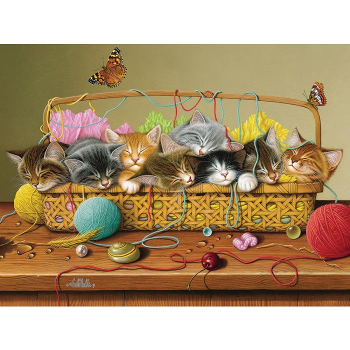 Cobble Hill 400pc Family Puzzle - Basket Case
