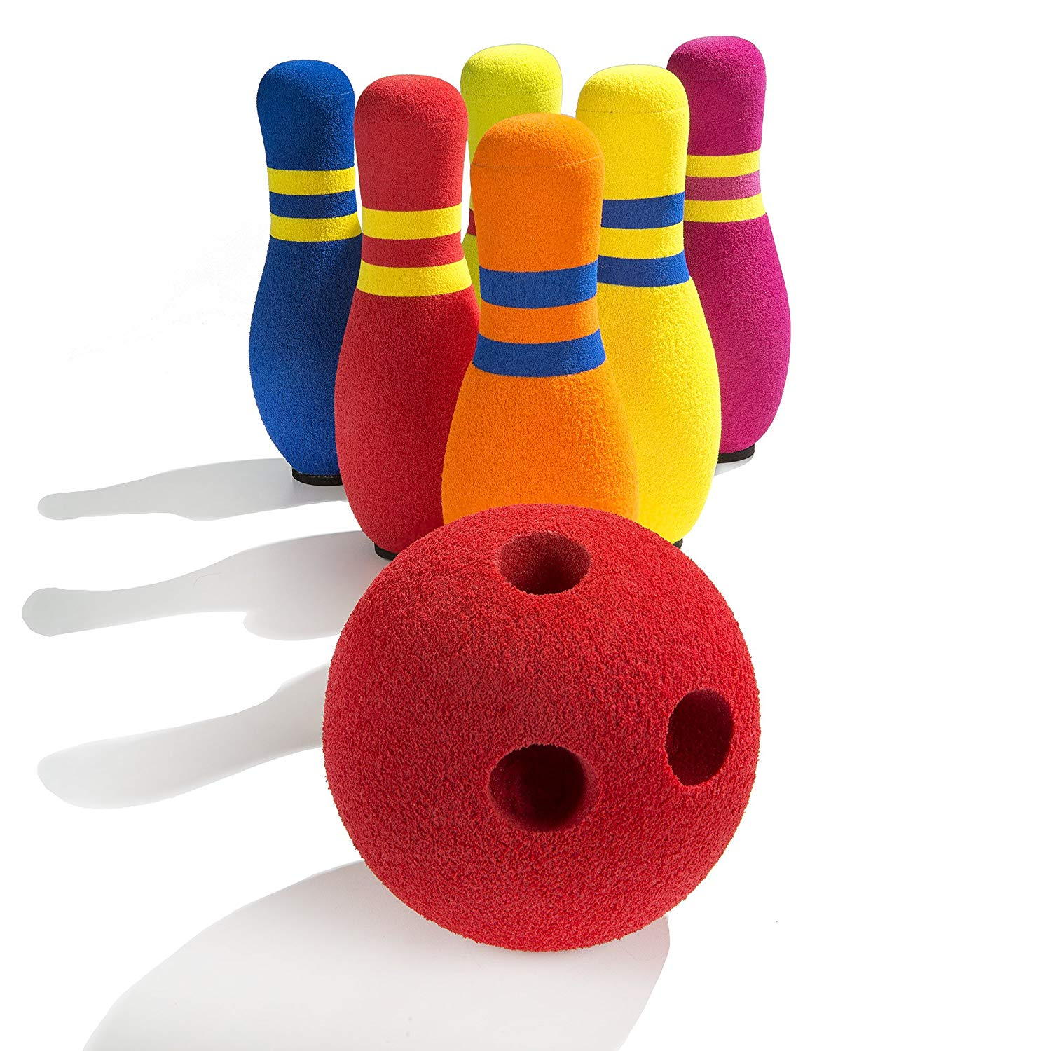 Kidoozie Six Pin Bowling Set - Toybox Toy Jungle