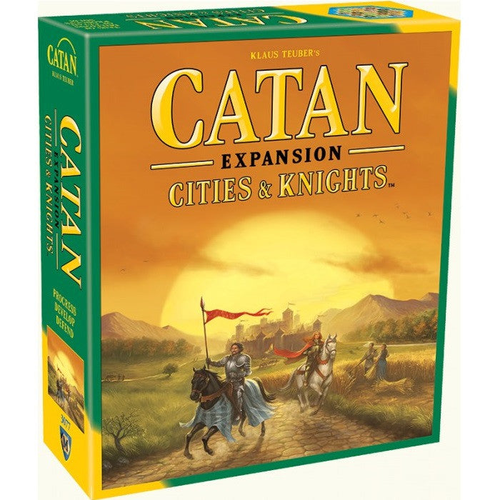 Catan - Cities & Knights Game Expansion - Toybox Toy Jungle
