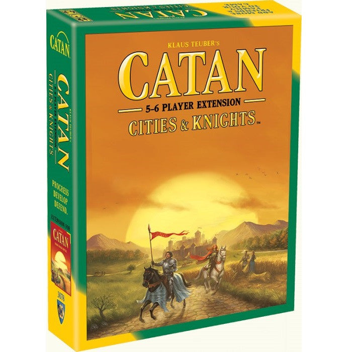 Catan - Cities & Knights 5-6 Player Extension - Toybox Toy Jungle