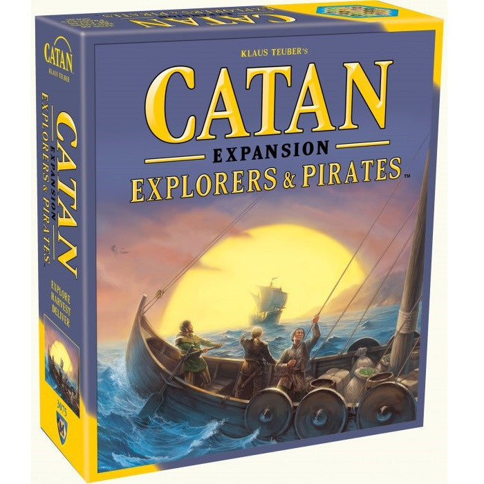 Catan - Explorers & Pirates Game Expansion - Toybox Toy Jungle