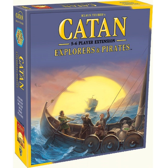 Catan - Explorers & Pirates 5-6 Extension - Toybox Toy Jungle