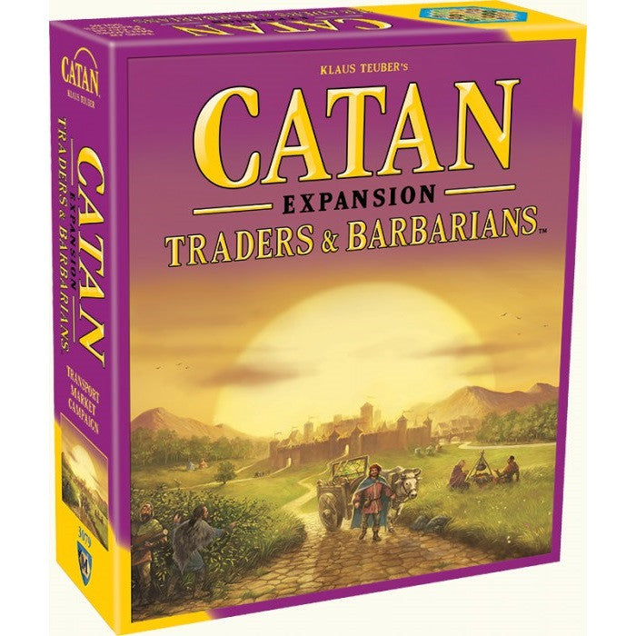 Catan - Traders & Barbarians Game Expansion - Toybox Toy Jungle
