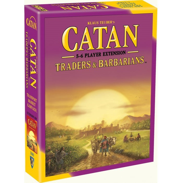 Catan - Traders & Barbarians 5-6 Extension