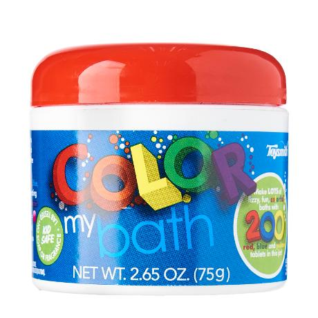 Toysmith Colour My Bath - 200 Small Tablets