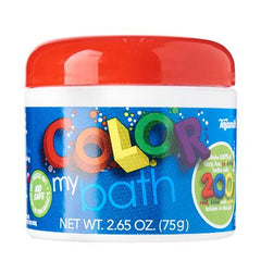 Toysmith Colour My Bath - 200 Small Tablets - Toybox Toy Jungle