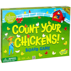 Count Your Chickens - Cooperative Board Game - Toybox Toy Jungle