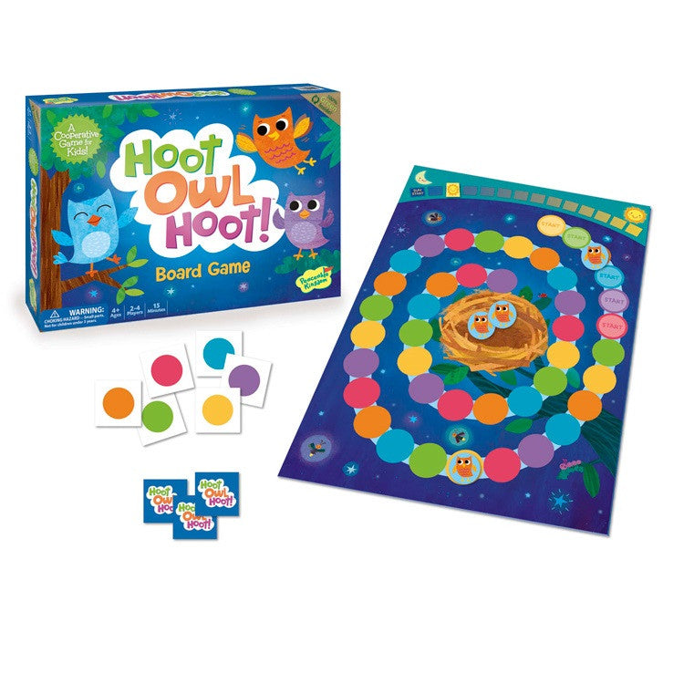 Hoot Owl Hoot - Cooperative Board Game - Toybox Toy Jungle