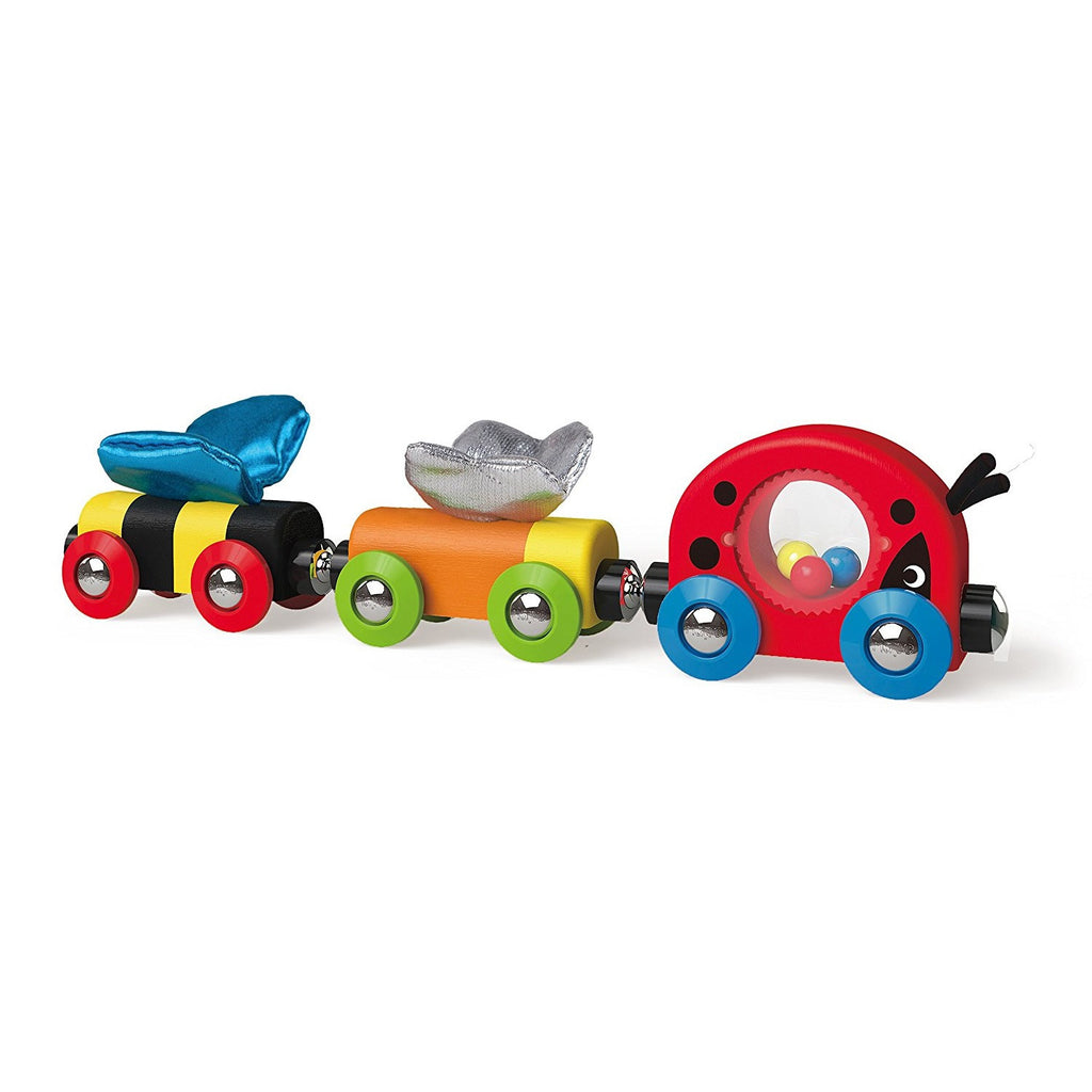 Hape Lucky Ladybug & Friends Train