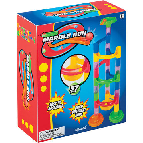 Toysmith 37pc Marble Run - Toybox Toy Jungle
