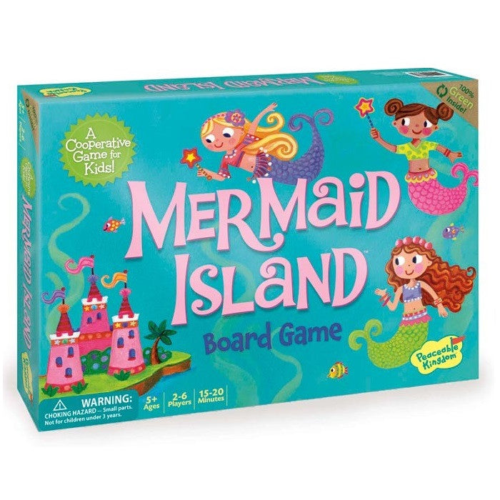 Mermaid Island - Cooperative Board Game