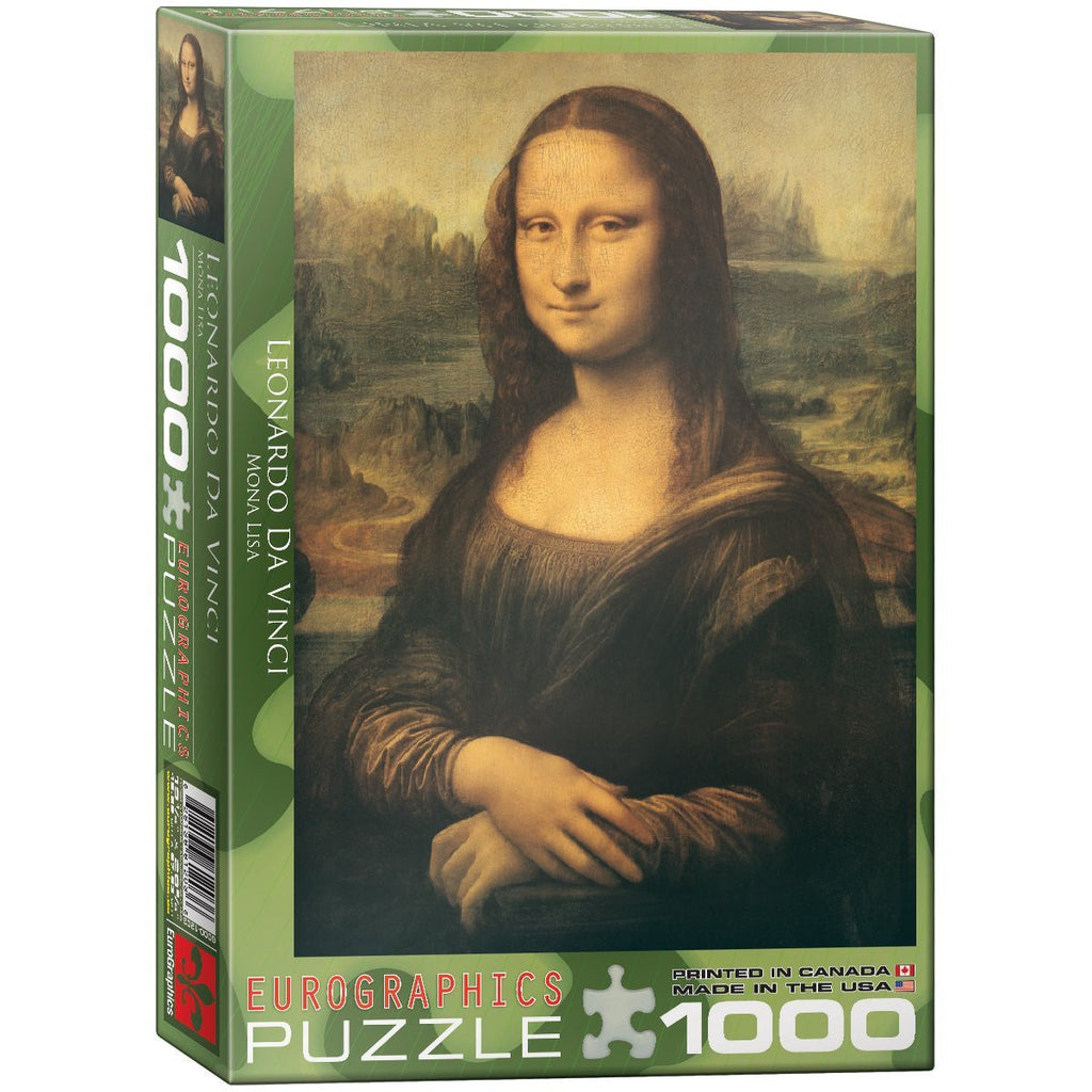 Eurographics 1000pc Puzzle - Mona Lisa