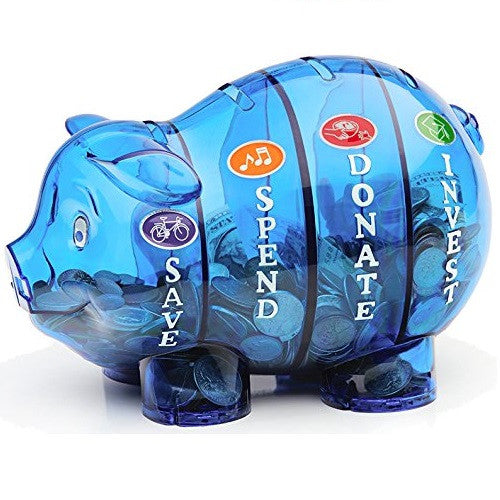 Money Savvy Piggy Bank