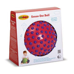 Edushape 7'' Senso-Dot Ball - Toybox Toy Jungle