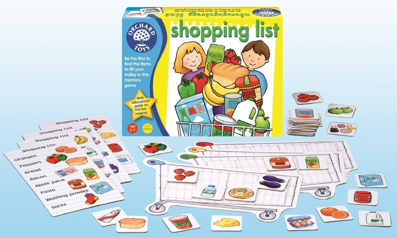 Orchard Toys - Shopping List - Toybox Toy Jungle