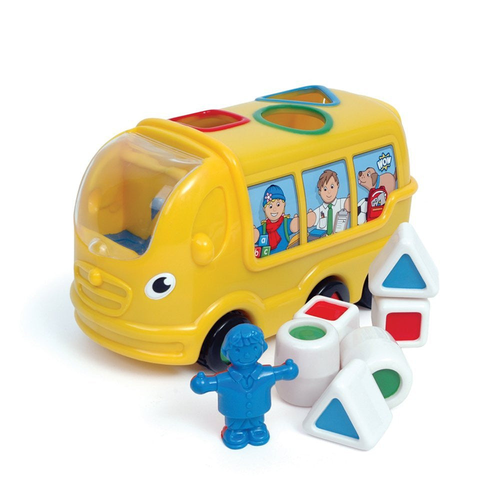 Wow - Sidney School Bus - Toybox Toy Jungle