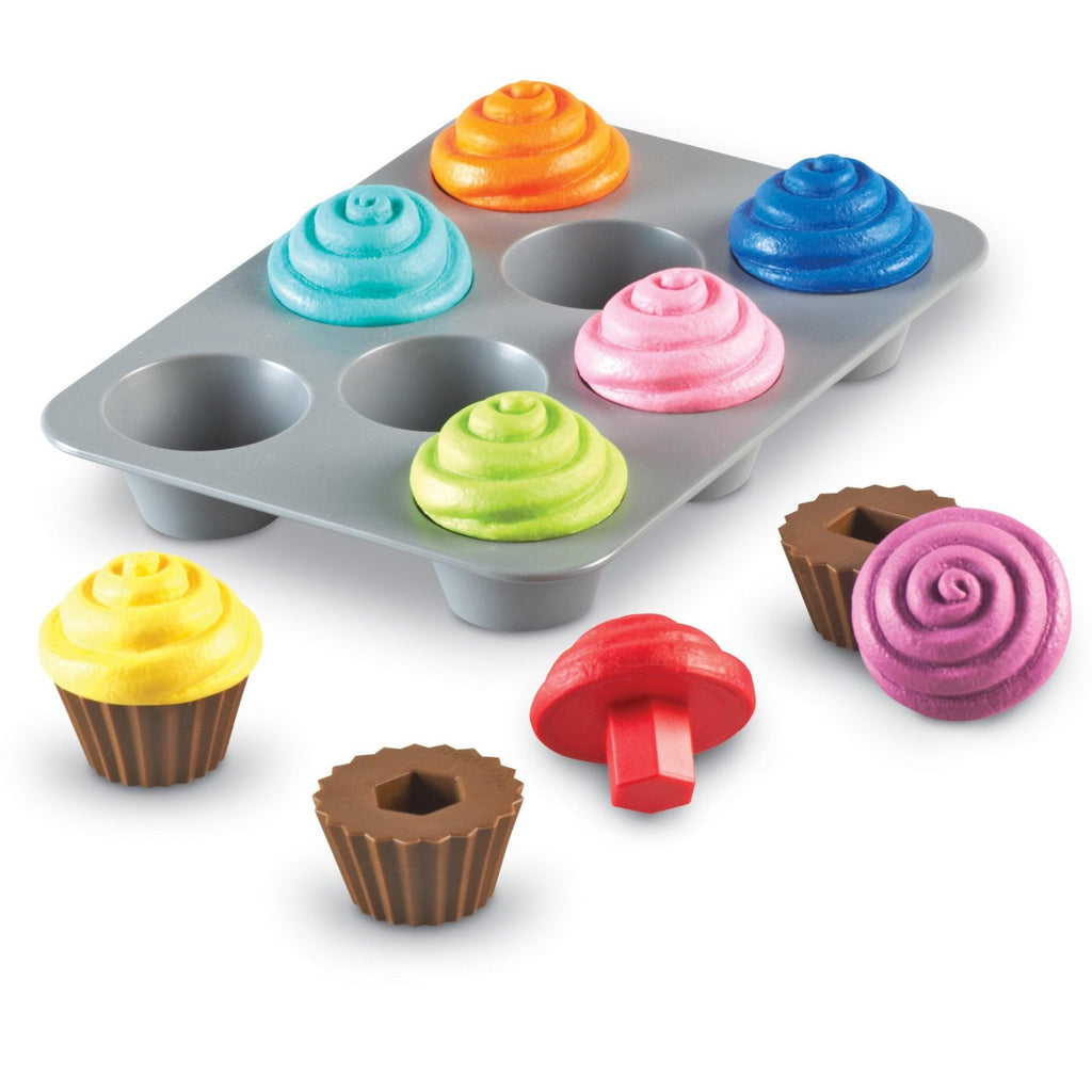 Smart Snacks - Shape Sorting Cupcakes