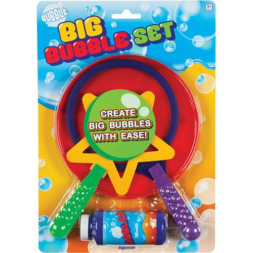 Toysmith Big Bubble Set