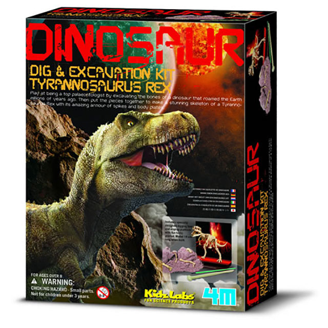 4M Dig & Excavation Kit - Tyrannosaurus Skeleton