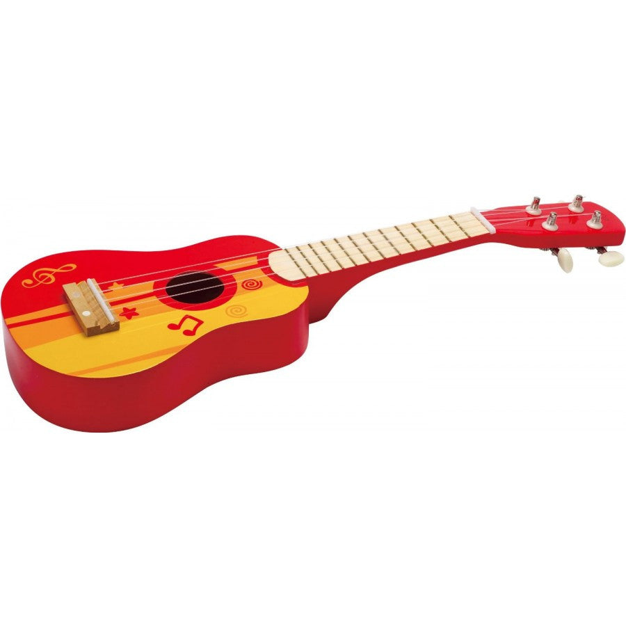 Hape Red Ukulele - Toybox Toy Jungle