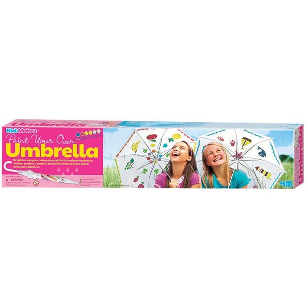 4M Paint Your Own Umbrella