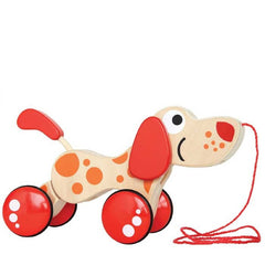 Hape - Pepe Pull Along Puppy - Toybox Toy Jungle