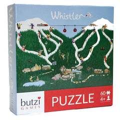 Butzi Games - Whistler 60pc Puzzle - Toybox Toy Jungle
